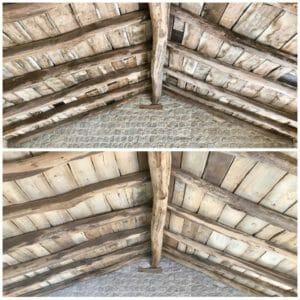 Travi in legno antico prima e dopo la sabbiatura 300x300 - Travi in legno antico prima e dopo la sabbiatura