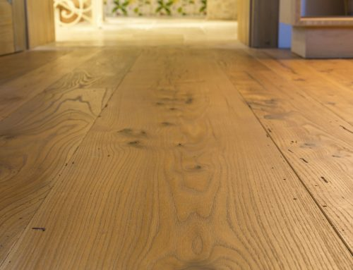THE LAYING OF ANCIENT RECOVERY WOOD FLOORS